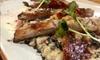 Menú de paella o langostinos