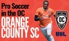 Orange County SC – Up to 56% Off Soccer Game