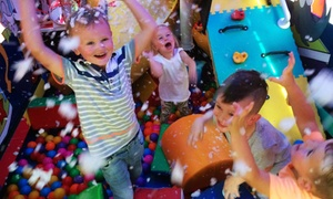 Polly's Play Bus: Six-Hour Play Bus Party Hire and Optional Food for Up to 12 Children with Polly's Play Bus (Up to 55% Off)