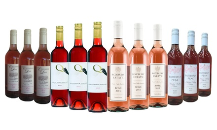$59 Bottles Mixed Case of Summer Rose from Hunter Valley and Mudgee Don't Pay up to $189