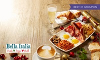 Prosecco Brunch for One or Two at Bella Italia, Nationwide (Up to 57% Off)