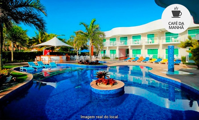 Cabo Frio/RJ: 1, 2, 3, 4, 5 ou 7 noites para 2 + café da manhã no Best Western Paradiso Del Sol
