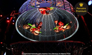 Circo Maximus: Circo Maximus – Estacionamento do Carrefour Hipermercado São José Campos: 2 ingressos