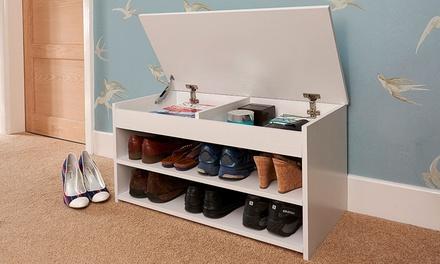 Lift-Up Shoe Storage Unit