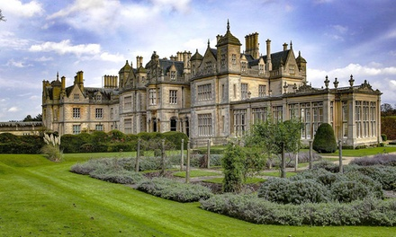 Afternoon Tea for Two or Four at Stoke Rochford Hall Hotel & Golf