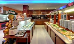Royal de Chine: Buffet, wok et grillades à volonté pour 2 personnes à 24,90 € au restaurant Royal de Chine