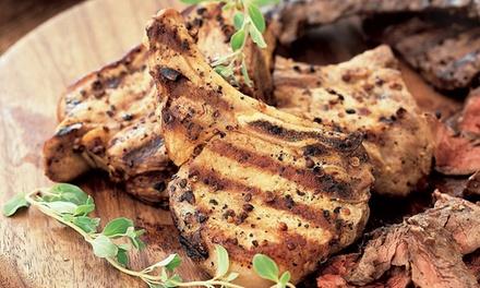 1 kg di carne grigliata a coppia con antipasto, dolce e calice di vino al ristorante Gaia (sconto fino a 60%)