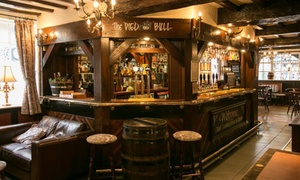 The Pied Bull: Brewery Tour with Meal and Beer Tasting for Up to Four at The Pied Bull (Up to 46% Off)
