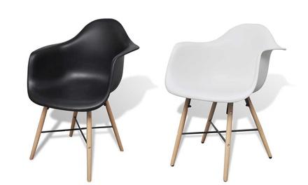 Chaise de bureau élégante noir ou blanc au choix à u ac de