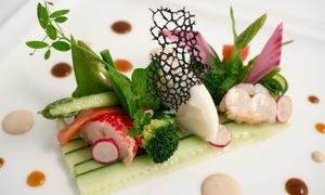 L'Écusson: Menu « Saveur » en 3 services ou « Découverte » en 4 services pour 2 convives dès 69,90 € au restaurant L'Écusson