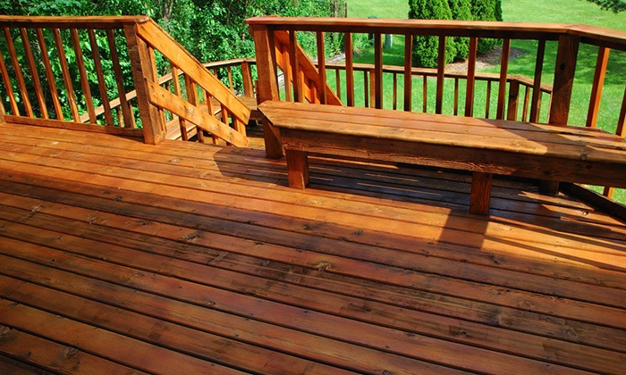 Second To None Staining - Indianapolis: $150 for $300 Worth of Deck Staining or Pressure Washing  from Second To None Staining