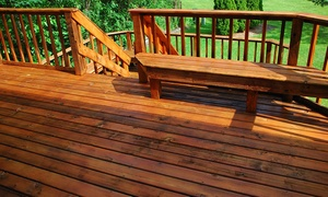 Second To None Staining: $150 for $300 Worth of Deck Staining or Pressure Washing  from Second To None Staining