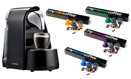 Bennoti MyCoffee Espresso & Coffee Maker with Coffee Capsules Bundle