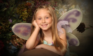 Smile America Portraits: $19 for a Kids' Fairy Photo Shoot with Prints from Smile America Portraits ($58.95 Value)