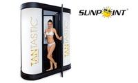 Spray-Tanning-Bräune ohne UV mit der Tantastic Bräunungsdusche bei Sunpoint Deutschland (28% sparen*)