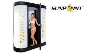 SUNPOINT: Spray-Tanning-Bräune ohne UV mit der Tantastic Bräunungsdusche bei Sunpoint Deutschland (28% sparen*)