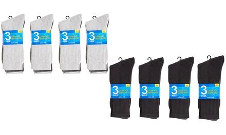 12-Pack of Mens Sports Socks