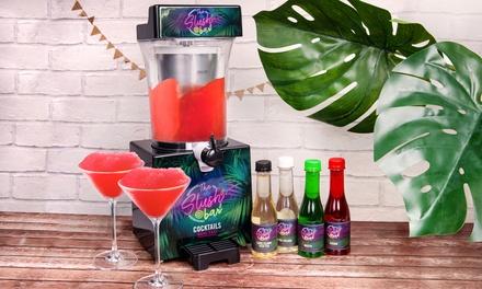 Fizz Creations Slush Bar Cocktail Slushy Machine with Optional Syrups
