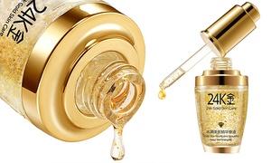 (Beauté)  Fluide Or 24K collagène -65% réduction