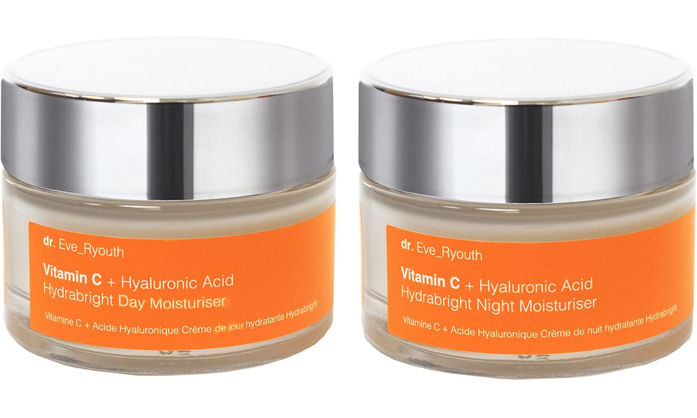 One or Two Dr Eve Ryouth Vitamin C Skin Care Moisturisers