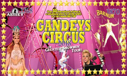 image for Gandey's International Thrill Circus, 9 February - 3 March 2018, Two Locations (Up to 50% Off)