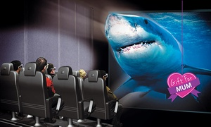 9D Action Cinemas - Sydney: Interactive Virtual Reality Experience for One ($7.50), Two ($15) or Four ($28) at 9D Action Cinemas (Up to $60 Value)