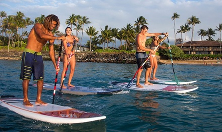 SUP: 1- ($15) or 2-Hr ($25) Equipment Hire or Lesson for 1 ($35) or 2 People ($59) with Kite Republic (Up to $119 Value)