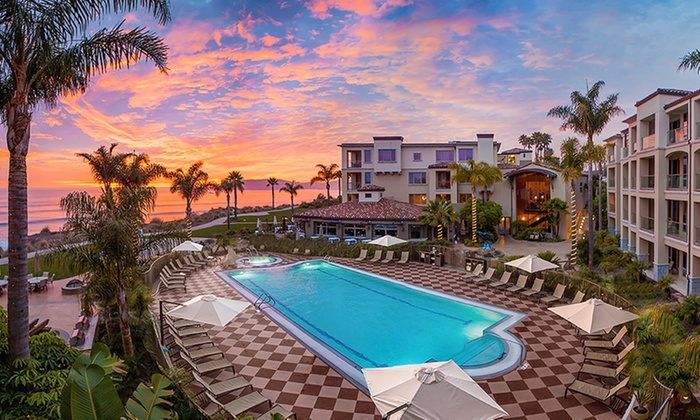 4 Star California Resort Steps From Beach