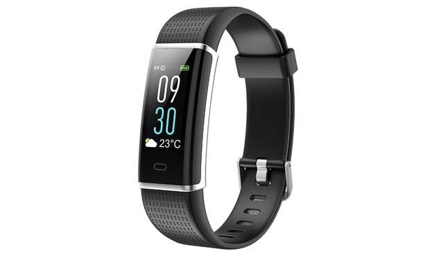 From $39.95 for an ID130 Plus Colour Touchscreen Activity Tracker with HR Monitor, Weather Display and More