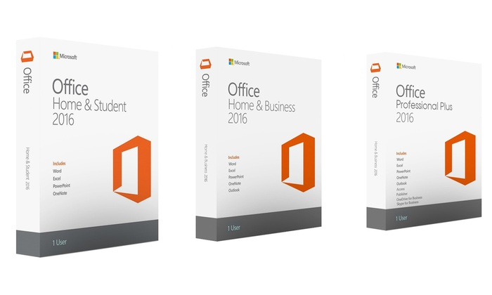 microsoft office 2016 home and student windows version