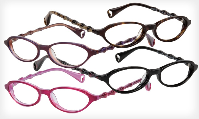 Itsy Bitsy Purr-fect Frames: $39 for Itsy Bitsy Purr-fect Optical Frames by Betsey Johnson ($195 List Price). Four Colors Available.