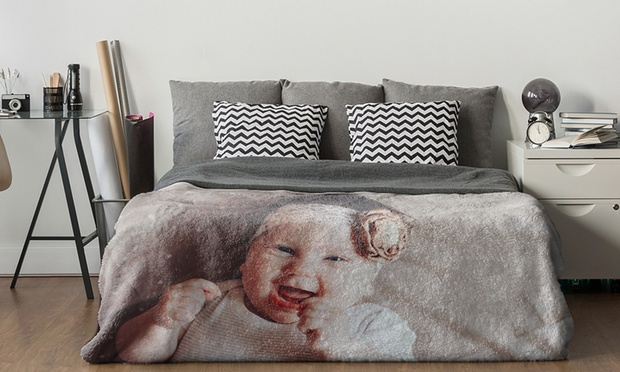 From $24.99 for a Personalised Photo Blanket (Dont Pay up to $238.90)