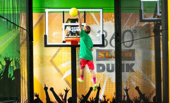 Up to 36% Off Trampoline Park Packages at Rockin' Jumps