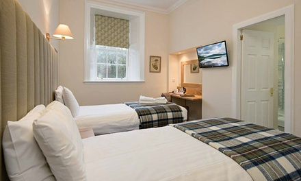 Argyll and Bute: Standard Room for Two with Breakfast and Daily ThreeCourse Dinner at The Inveraray Inn
