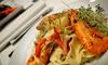 La Risata Ristorante - North York Industiral: Three-Course Italian Dinner for Two or Four at La Risata Ristorante (Up to 50% Off)