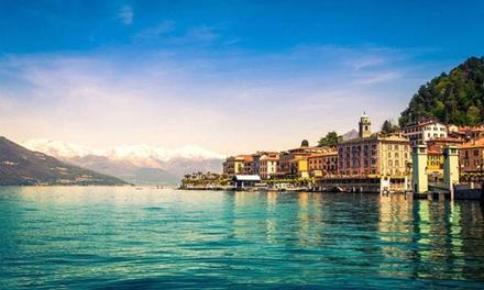 Abbadia Lariana: camera con vista sul lago o lato montagna o mansarda con colazione per 2 presso Park Hotel Como