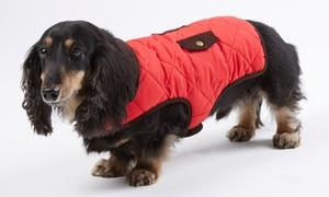 Wag & Bone Quilted Dog Jacket