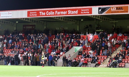 Choice of Up to Three Cheltenham Town Matches, 2, 16 and 26 September at LCI Rail Stadium (Up to 52% Off)