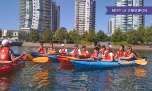 Vancouver Boating BC: Single- or Tandem-Kayak Rental, or a Intro to Kayaking Class from Vancouver Boating BC (Up to 44% Off)