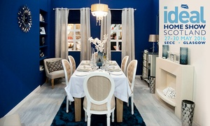 Ideal Home Show Scotland: The Ideal Home Show Entry For Two at SECC, Glasgow: £12 (Up to 50% Off)