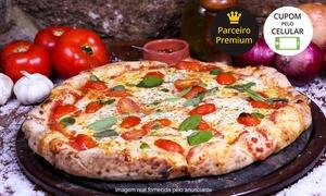A Dita Pizza: A Dita Pizza – Itacorubi: pizza grande do cardápio tradicional, especial ou gourmet
