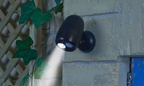 2 o 4 lámparas LED inalámbricas con sensor de movimiento
