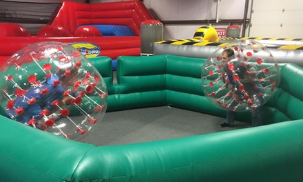 Inflatable Indoor Park Admission at Battle Zone (Up to 47% Off)