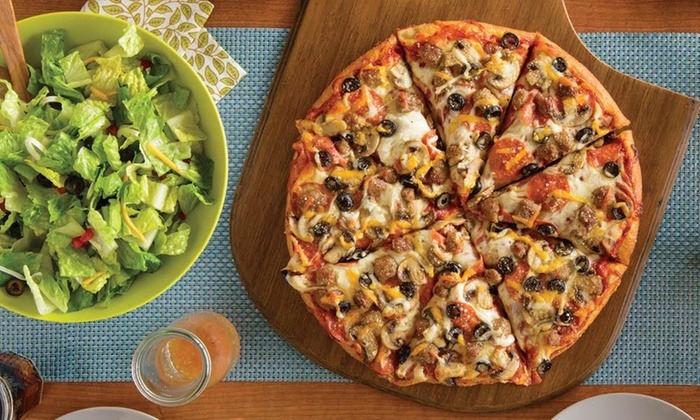 Pizza, Cheese Bread, and Soda - Papa Murphy's | Groupon