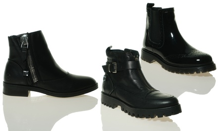 Bronx Leder-Ankle-Boots im Modell und in der Grösse nach Wahl (Koln)