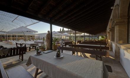 Menú para 2 o 4 con entrantes, principal, postre y vino en Restaurante Ses Tres Germanes (hasta59% de descuento)
