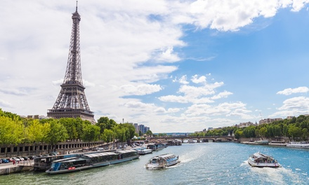 ✈ Paris: 4 or 6 Nights with Return Flights and Optional 1Day 2 Disneyland Parks Ticket at Choice of Hotels*