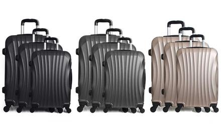Set di 3 valigie Hero