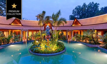 Siem Reap: Two, Three or Five Nights for Two People with Breakfast and Wi-Fi at 5* Angkor Village Resort & Spa