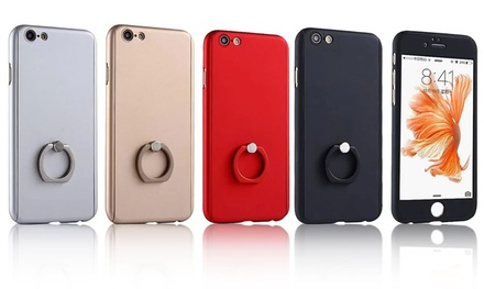 Waloo 360° Tempered-Glass Full-Body Apple iPhone 6 or 6+ Case